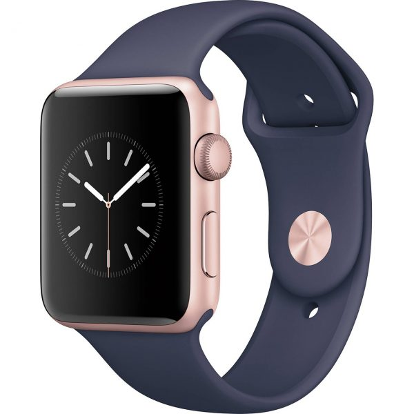 Apple-Watch-2-42mm-Rose-Gold-Case-with-Midnight-Blue-Sport-Band-7ea3dd