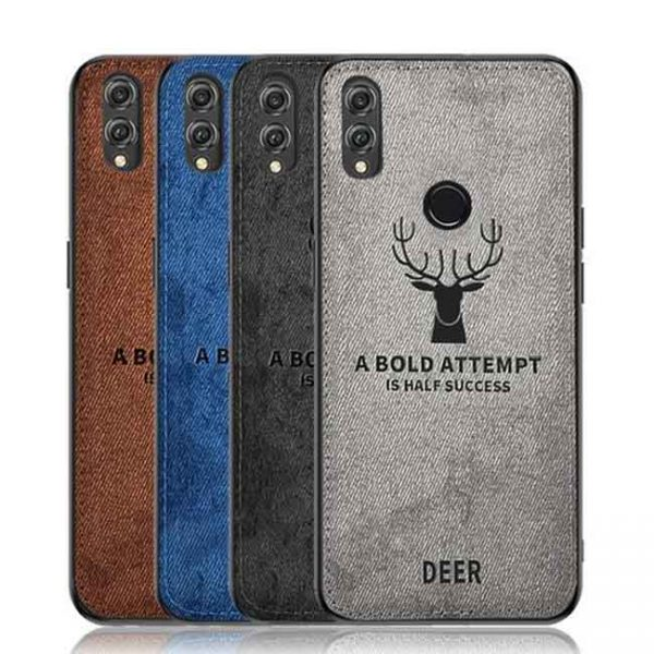 buy-price-honor-8x-cloth-texture-silicone-tpu-deer-case-17-قاب-گوشی-گوزنی