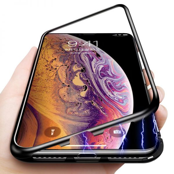 buy-price-apple-iphone-xs-max-magneic-adsorption-metal-bamper-case-8-قاب-گوشی